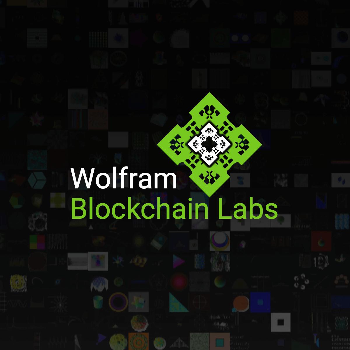 Wolfram blockchain lab dlt